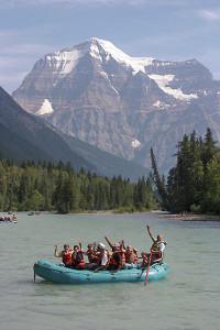 Gentle Raft Trip on the Fraser River