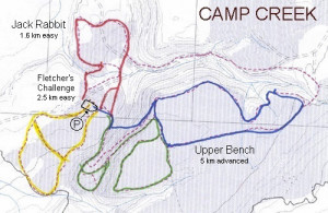 Camp Creek Karte