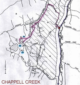 Chappell CreekTrail Map