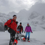 Snowshoe in the Canadian Rockies